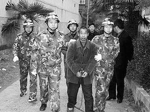 宣判后,邱兴华被押赴刑场.-邱兴华被执行死刑
