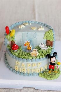 生日蛋糕装饰综合班 新