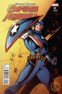 美国队长漫画中黑化了 他又飞快洗白了