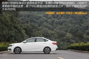 ...动乐享版 全新悦翔V7购买推荐