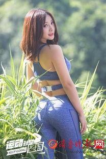 柳岩晒性感美照凹凸有致 健身衣勾勒出的身形丰胸翘臀没得说