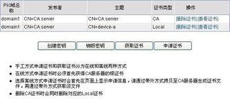 PKI Web配置举例