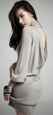 韩女星性感背影令人窒息 突破尺度穿妩媚胸衣