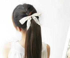 最新编发教程图解 简单的淑女发型教学