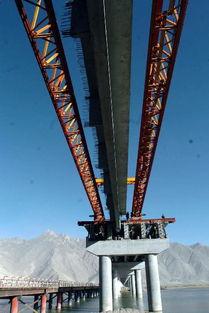 ...藏公路最长大桥架设完毕