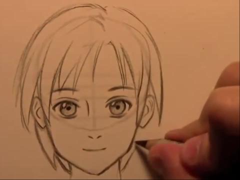 动漫人物画法素描简笔画设计大全30教你画漫画