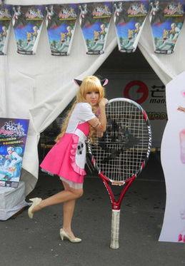 网球宝贝 女仆装 制服诱惑 超萌舞女