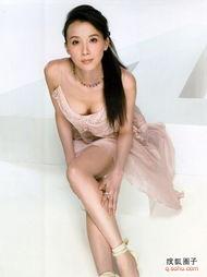 胸部形状最美的十大华人女星 组图