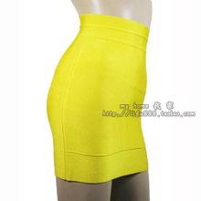 ...12新款糖果色绷带短裙 OL纯色包臀裙