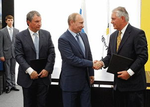 担任埃克森美孚首席执行官,与俄... 蒂勒森作为大型跨国公司CEO,有...
