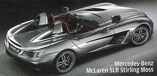 ,最高车速可达334公里/小时.SLR迈凯伦的消费者绝对是