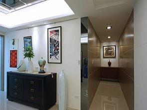 日式家装室内玄关图片大全-2017家装玄关 房天下装修效果图