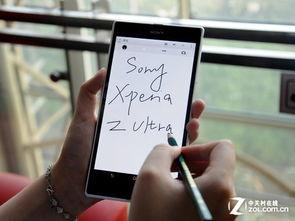 可以直接用笔在屏幕上写字,是索尼Xperia Z Ultra的最大亮点-日本手...