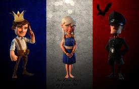 ...、法国:王冠、猎鹰,与其说是法国的标志,倒不如说是英国的象征...