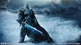 魔兽世界巫妖王阿尔萨斯图片