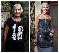 老太太也时髦 91岁风韵犹存的时尚达人