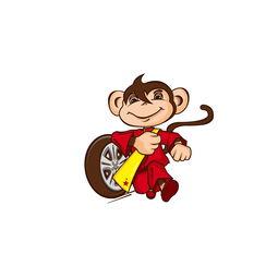 小猴子形象创意