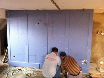 始上墙了   楼梯间隔墙造型好了!   第1228楼   阁楼隔墙造型,上阵父...