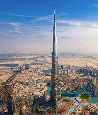 ...阿联酋迪拜塔:这座160层的摩天大楼高达828米.迪拜哈利法塔不仅...