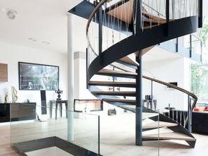 别墅家用楼梯设计效果图-别墅楼梯装修效果图欣赏
