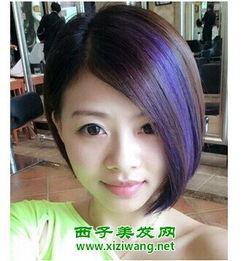 初中女生短发发型图片