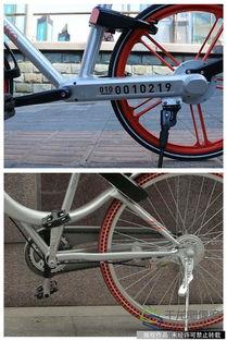 ...为老款(上)和新款(下)摩拜单车传动部位拼图.(图片来源:...