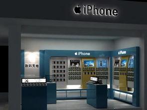 苹果手机店面装修效果图-2018手机店铺装修图片 房天下装修效果图