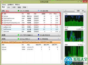 用任务管理器怎样查QQ好友IP地址 用任务管理器查QQ好友IP地址小技...