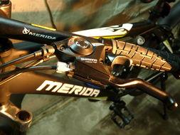出售一辆美利达2011款勇士550山地车自行车.轮组快拆的