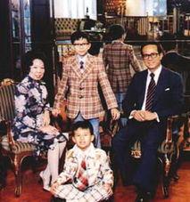 图揭秘香港两大豪门传奇 一线女星争相嫁入
