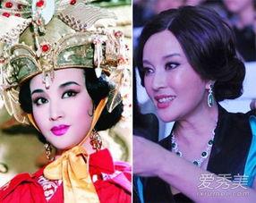 《武则天》青年武媚娘-刘晓庆装嫩20年 整容前后照片露破绽 图
