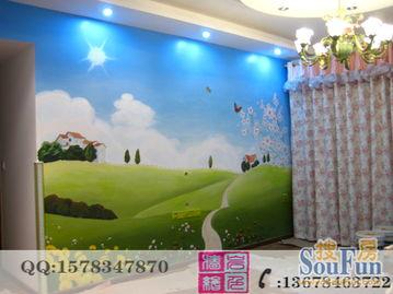 极富魅力的手绘墙壁画,让你的家有个翻天覆地的变化吧,迎接活力的...