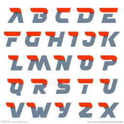 如何设计线条风格的字母?