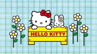Hello Kitty可爱高清桌面壁纸