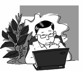 上空气好 以上漫画由杨平凡/作   在最新出版的《室内植物可以挽救人的...