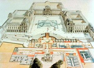 著名华裔建筑设计大师贝聿铭