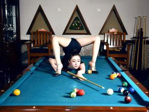 上海某集团私人会所内中国辽宁的柔术美女孙菲拍摄了一组打桌球的逆...