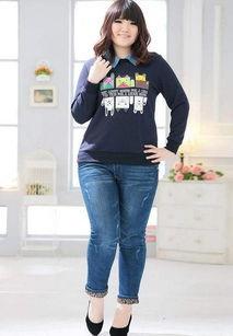 微胖女生穿哪种款式的牛仔裤最显瘦