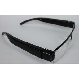 ...半框录像眼镜 侧面镜头 可换镜片 可选配32G内存卡 现货 配32G内存...