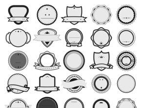 徽章模板徽章素材矢量徽章奖章图片下载cdr素材 其他