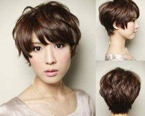帅气女生短发-就要不一样 6款帅女生短发
