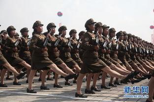 ...方记者看不到的朝鲜 飒爽女兵