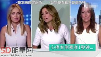 澳大利亚女主播撞衫后台发飚 节目开始一秒变笑脸