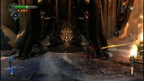 ....最后,要破解六尊骑士下面6个符咒的谜题.-恶魔城 暗影之王全剧情...
