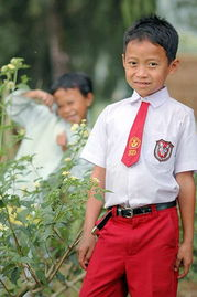 印度尼西亚小学生的校服.-英国的校服