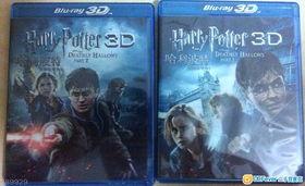 ...售 哈利波特–死神的圣物1 2D 3D Blu ray Disc 正版正货