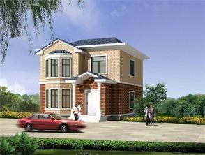 ...流行的12万新农村小别墅设计效果图