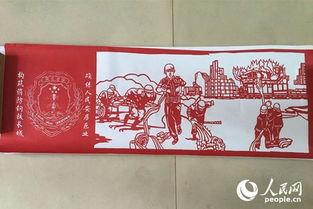 江西景德镇 父女两代传承人 共创消防卫士画