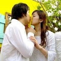 情侣接吻头像一男一女