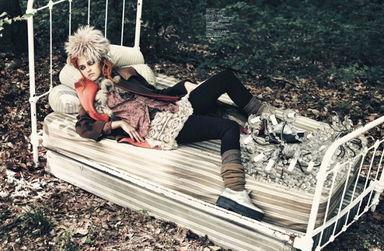 神秘森林里的诡异故事 Jalouse 2011秋冬 时尚大片